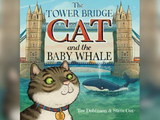 The Tower Bridge Cat and the Baby Whale cover